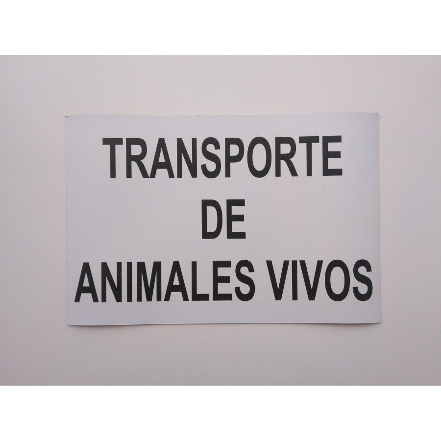 CARTEL ANIMALES VIVOS IMANTADO