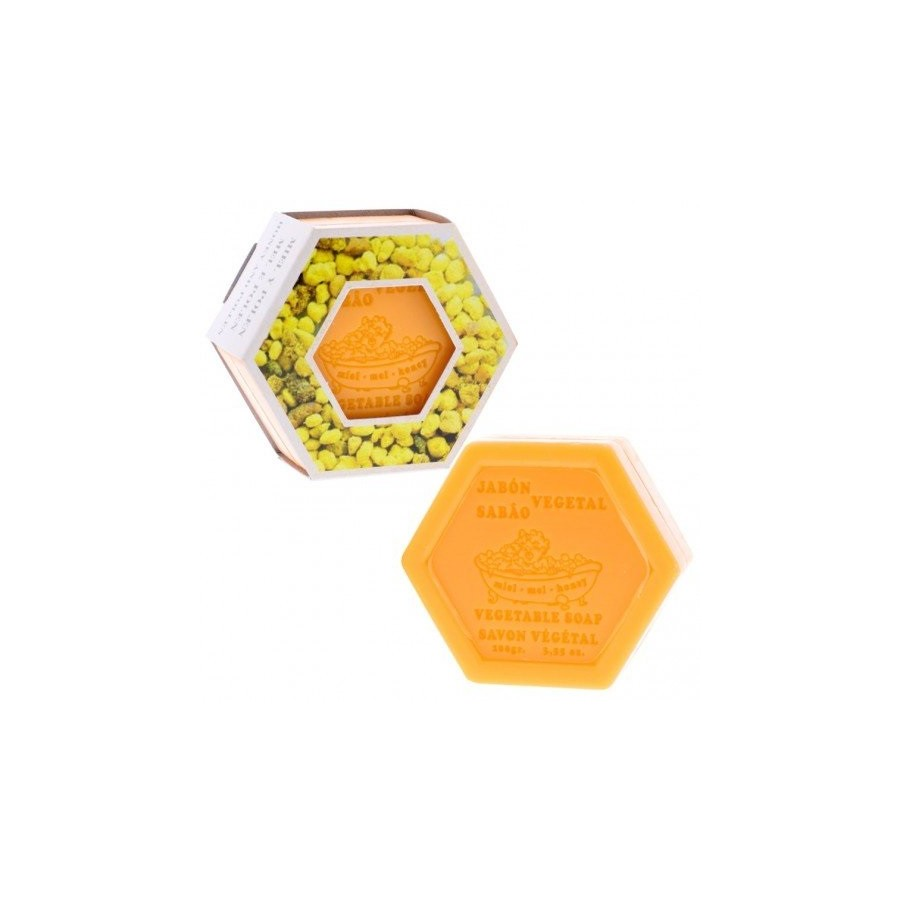 Jabón Hexagonal de Polen y...